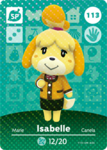 Ac amiibo card s2 isabelle winter