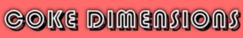 Coke Dimensions Logo