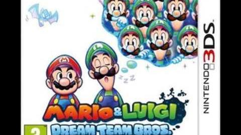 Pokemon Black and White 2 - Mario and Luigi Dream Team Bros