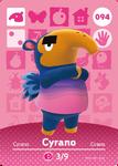 Ac amiibo card cyrano