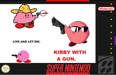 Kirby With A Gun