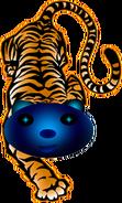 Unten Tiger