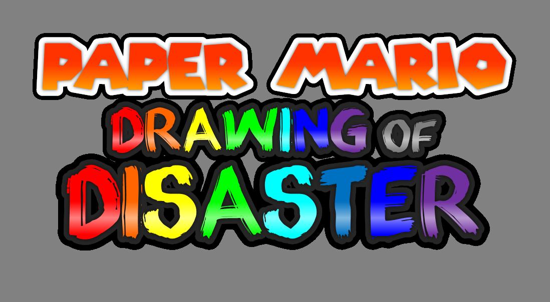 Paper Mario Drawing Of Disaster Mario Rpg Universe
