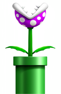 Purple Piranha Plant