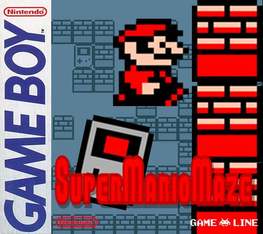 File:SuperMarioMazeUS Box.png