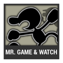 ACL -- Super Smash Bros. Switch character box - Mr. Game & Watch