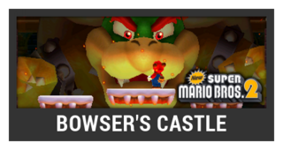 ACL -- Super Smash Bros. Switch stage box - Bowser's Castle