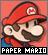 IconPaper Mario
