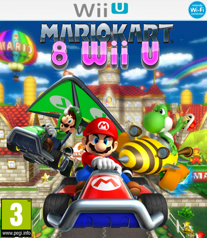 File:Mario Kart 8 Wii U Box (revision).png
