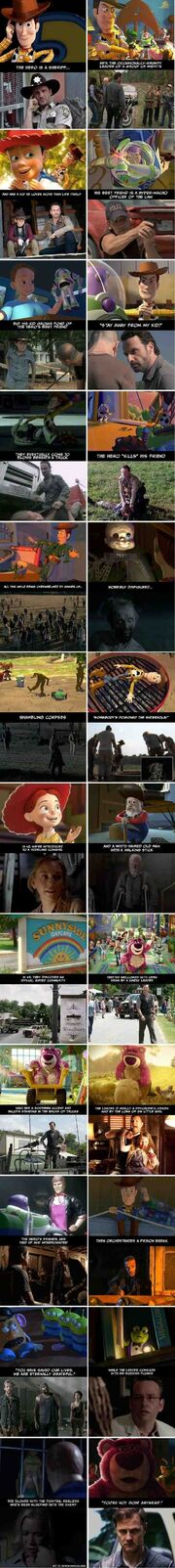 The Walking Dead Toy Story theory