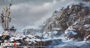 Far Cry 4 DLC Valley of the Yetis concept art by XuZhang (16)