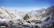 Far Cry 4 DLC Valley of the Yetis concept art by XuZhang (28)