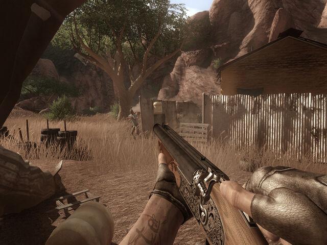 Archivo:Far cry 2 double barrel 2.jpg