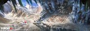 Far Cry 4 DLC Valley of the Yetis concept art by XuZhang (10)