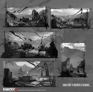 Farcry4 ruins studies by donglu yu additions 01