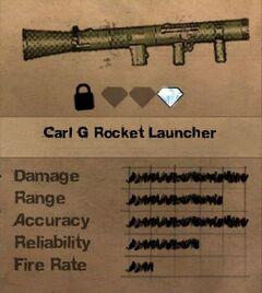 FC2 MP Carl G Rocket Launcher