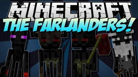 Minecraft THE FARLANDERS! (NEW Endermen Race!) Mod Showcase 1.5.1