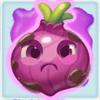 Onion grumpy on slime