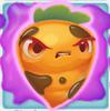 Carrot grumpy on slime