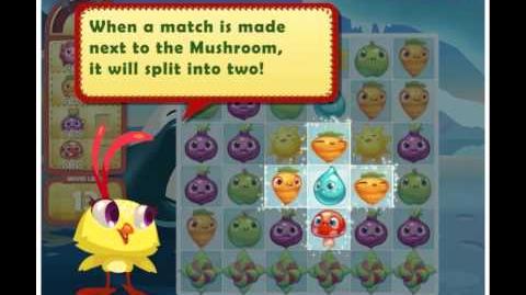 Official Farm Heroes Saga - The Mushroom