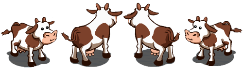 Cow Rotate