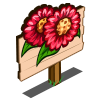 Scarlet Sunflower Mastery Sign-icon