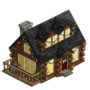 Winter Farm House1