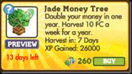 Jade Money Tree Market Info