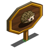 Hedgehog Mastery Sign-icon