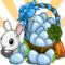 Blue Easter Eggs-icon