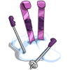 Skis in Snow-icon