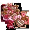 Valentine Cookie Tree-icon