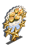 Baked Cucumber 5 Star Mastery Sign-icon