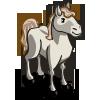 White Mustang-icon