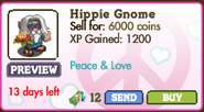 Hippie Gnome Market Info (August 2012)