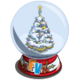 Winter Tree Snow Globe-icon