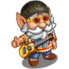 Hippie Hiker Gnome-icon