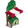 Organic Spinach Stall-icon
