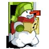 Caroling Snowman-icon