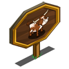 Western Longhorn Mastery Sign-icon