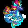 Colourful Aqua Seapony-icon