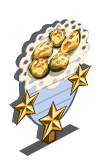 Baked Cucumber 3 Star Mastery Sign-icon