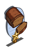 Pumpkin Bread 1 Star Mastery Sign-icon