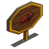Red Dart Frog Mastery Sign-icon