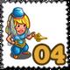 Arabic Dancer Gnomette Stamp-icon