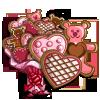 Big Valentine Cookie Tree-icon