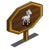 Camargue Foal Mastery Sign-icon