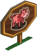 Pink Cow Mastery Sign-icon