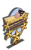 Mocha Blackberry Cake 5 Star Mastery Sign-icon