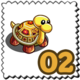 Precious Gem Turtle Stamp-icon